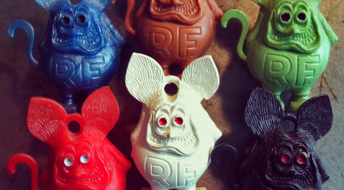 Mini Vending Machine >> Ratfinks: Grotesque, in Highly Detailed Plastic ...