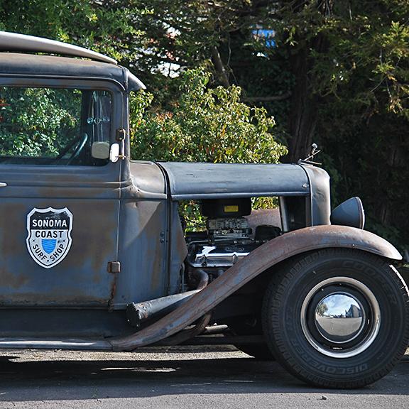 Sonoma Coast truck