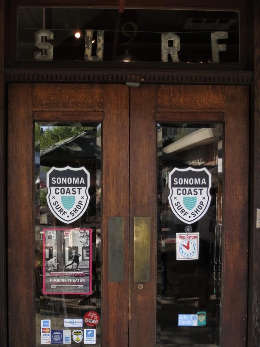 Surf Shop front door.blog